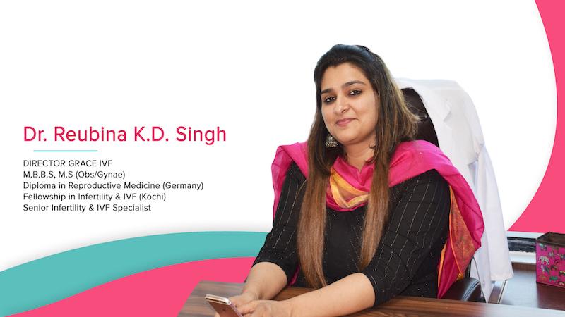 Dr. Reubina K.D. Singh Grace IVF Client